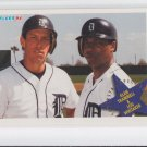 Alan Trammell & Lou Whitaker Together Again 1994 Fleer #709 Tigers