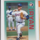 Nolan Ryan Baseball Trading Card 1992 Fleer #320 Rangers