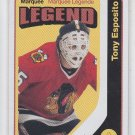 Tony Esposito Retro Marquee Legend SP 2014/15 Upper Deck OPC #569 Blackhawks