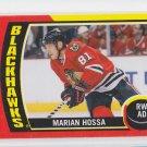 Marian Hossa Sticker Insert 2014-15 Upper Deck OPC #ST-15 Blackhawks