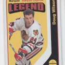 Doug Wilson Marquee Legend Retro SP 2014-15 Upper Deck OPC #594 Blackhawks