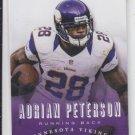 Adrian Peterson Football Trading Card 2013 Panini Prestige #110 Vikings