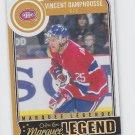 Vincent Damphousse Marquee Legend 2014-15 Upper Deck OPC #588 Canadiens