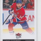 Tomas Plekanec Hockey Card 2014-15 Upper Deck Fleer Ultra #97 Canadiens