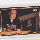 Cal Ripken Jr Baseball Trading Card 1992 Topps #40 Orioles