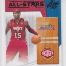 Carmelo Anthony All-Stars Insert 2010-11 Panini Season Update #3 Nuggets