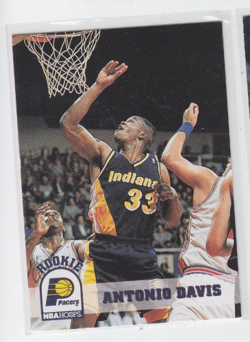 Antonio Davis Rookie Card 1993-94 Skybox #345 Pacers QTY