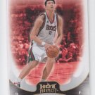 Yi Jianlian Basketball Trading Card 2008-09 Fleer Hot Prospects #47 Nets QTY