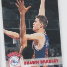 Shawn Bradley Rookie Card 1993-94 Skybox #385 76ers QTY
