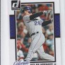 Nolan Arenado Trading Card Single 2014 Donruss #289 Rockies