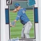 Alex Guerrero Rated RC SP Trading Card Single 2014 Donruss #236 Angels