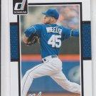 Zach Wheeler Trading Card Single 2014 Donruss #186 Mets