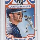 Evan Longoria Diamond Kings SP 2014 Donruss #17 Rays