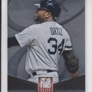 David Ortiz Elite Insert 2014 Donruss #9 Red Sox