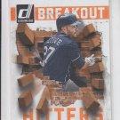 Jose Altuve Breakout Hitters 2014 Donruss #11 Astros