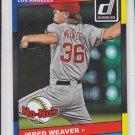 Jered Weaver No-Nos 2014 Donruss #6 Angels