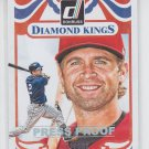 Brian Dozier Press Proof Silver Diamond Kings 2014 Donruss #224 Twins 193/199