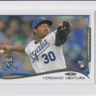 Yordano Ventura RC Trading Card Single 2014 Topps Mini Exclusives #265 Royals