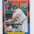 Nick Castellanos The Rookies Insert 2014 Donruss #3 Tigers