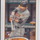 Kyle Hudson RC Trading Card Single 2012 Topps #218 Orioles