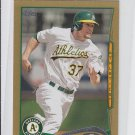 Brandon Moss Gold SP 2014 Topps Mini Exclusives #471 Athletics 62/63