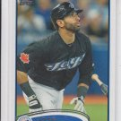 Jose Bautista Trading Card Single 2012 Topps #100 Blue Jays
