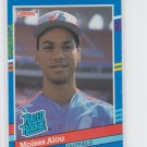 Moises Alou Rated RC Trading Card Single 1991 Donruss #38 Expos