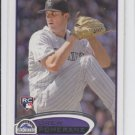 Drew Pomeranz RC Trading Card Single 2012 Topps Series 1 #42 Rockies