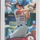 David Freese Trading Card Single 2011 Topps Series 2 #452 Cardinals