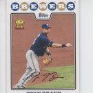 Ryan Braun Trading Card Single 2008 Topps #430 Brewers