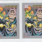 DeSaad Trading Card Lot of (2) 1991 Impel DC Comics #129 *ED