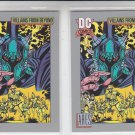 Ares Trading Card Lot of (2) 1991 Impel DC Comics #126 *ED