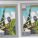 Mr. Nebula Trading Card Lot of (2) 1991 Impel DC Comics #137 *ED
