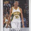 Kevin Durant 2008-09 Upper Deck First Edition #177 Supersonics