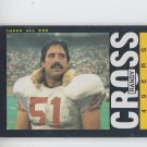 Randy Cross 1985 Topps #152 49ers EX+