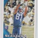 Golden Tate RC 2010 Topps #398 Lions