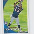 Ben Tate RC 2010 Topps #416 Texans