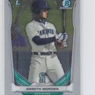 Gareth Morgan 2014 Bowman Chrome Draft #CDP68 Mariners