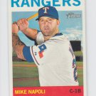 Mike Napoli Baseball Trading Card 2013 Topps Heritage #78 Rangers
