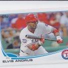 Elvis Andrus 2013 Topps Series 1 #436 Rangers