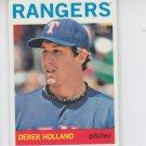 Derek Holland 2013 Topps Heritage #171 Rangers