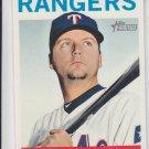 A.J. Pierzynski 2013 Topps Heritage #148 Rangers