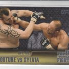 Randy Couture & Tim Sylvia Top 10 Fights 2011 Topps UFC Title Shot #TT-26
