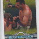 Fabrico Werdum Gold Refractors Parallel 2013 Topps UFC Finest #26 63/88