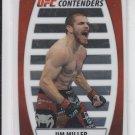 Jim Miller Contenders Chrome Insert 2011 Topps UFC Title Shot #C-JM