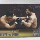 Jens Pulver & BJ Penn Top 10 Fights 2011 Topps UFC Title Shot #TT-16