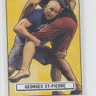 Georges St-Pierre Octagon-Side 2013 Topps UFC Bloodlines #OS-GS