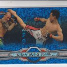 Chan Sung Jung  Blue Refractors Parallel 2013 Topps UFC Finest #70 089/188
