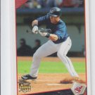 Trevor Crowe Rookie Card 2009 Topps Series 2 #377 Indians