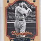 Rick Ferrell 2012 Panini Cooperstown #137 HOF Trading Card